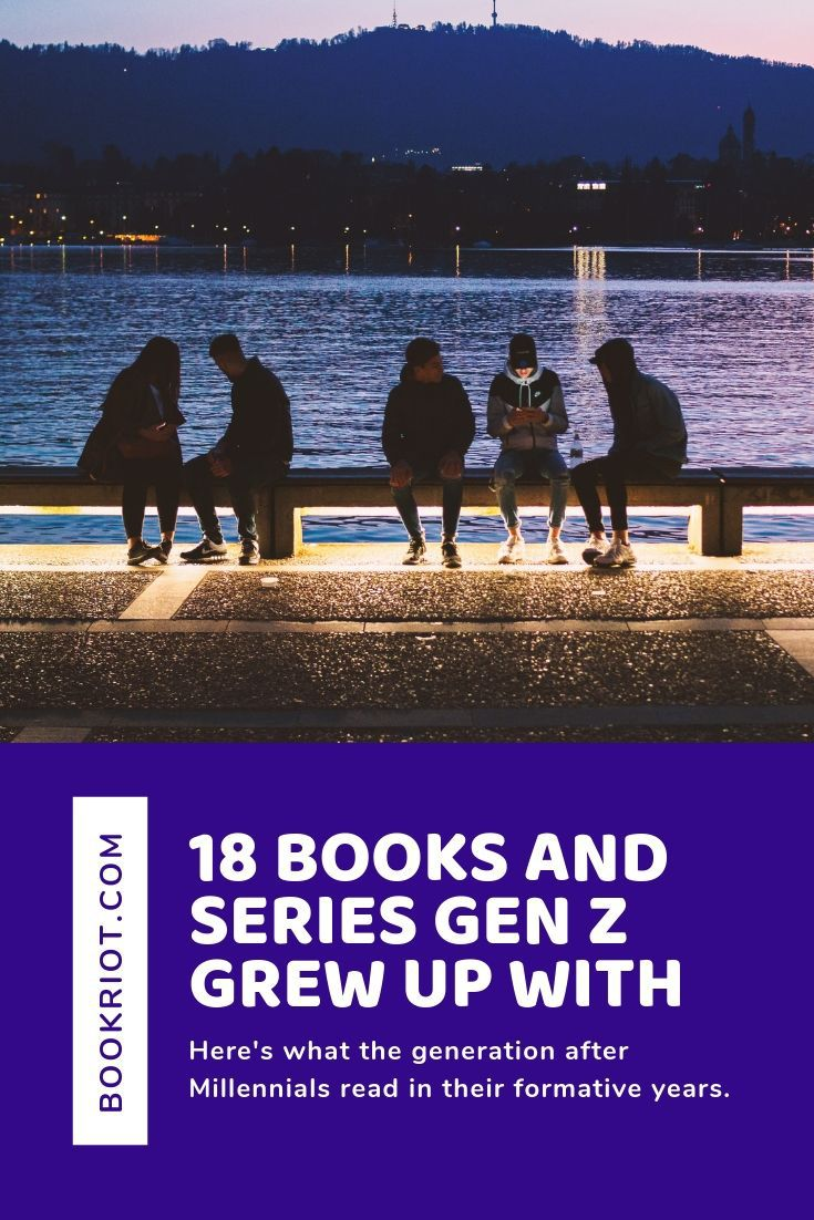 Harry Potter influenced Millennials. What has influenced the generation after? book lists | generation z | generation z reading | youth reading habits