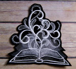 Ghostly Shadow Book Patch