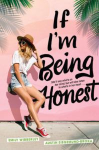 If I'm Being Honest from Millennial Pink YA Books | bookriot.com