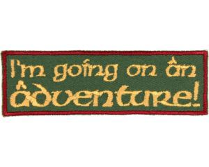 I'm Going on an Adventure Patch