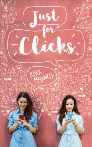 Just For Clicks from Millennial Pink YA Books | bookriot.com
