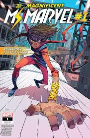 The Magnificent Ms. Marvel from New Comics by Novelists You Love | bookriot.com