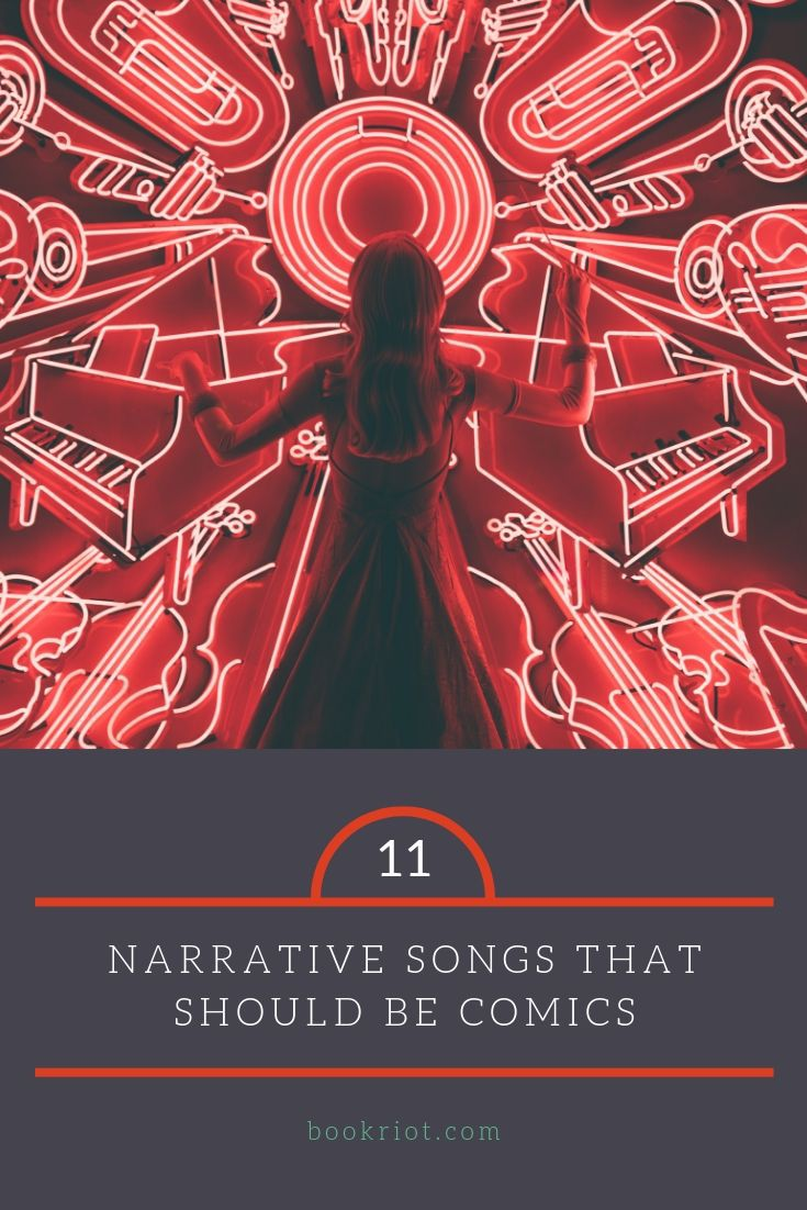 These incredible narrative songs would make for some incredible full-length comics.  comics | music | songs that should be comics