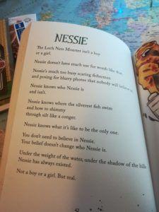 Nessie poem by Rachel Plummer