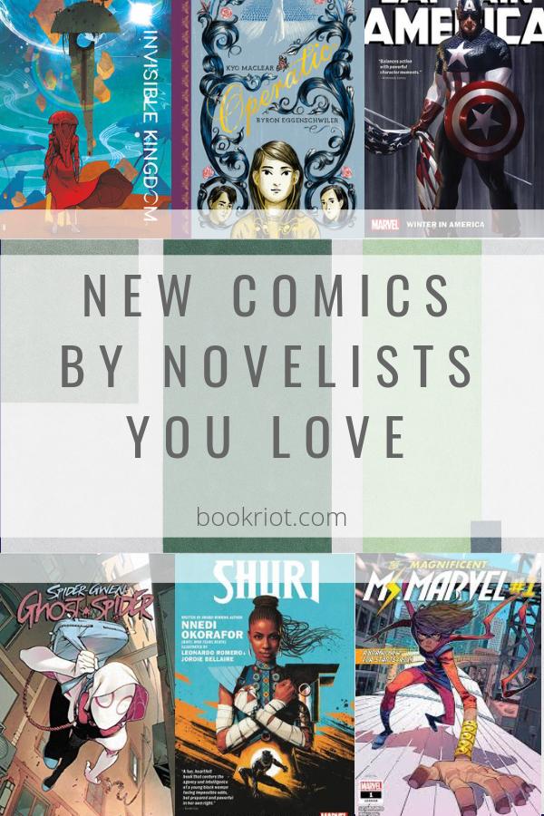 New Comics by Novelists You Love | bookriot.com