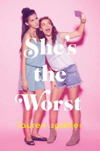 She's The Worst from Millennial Pink YA Books | bookriot.com