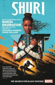 Shuri: The Search for Black Panther from New Comics by Novelists You Love | bookriot.com