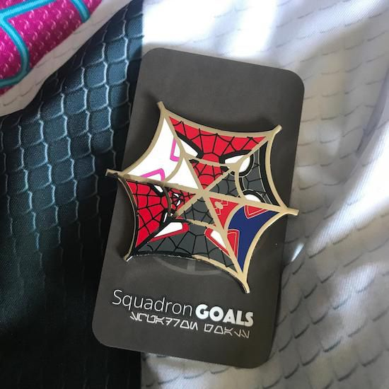 Into the spider-verse diminsions pin