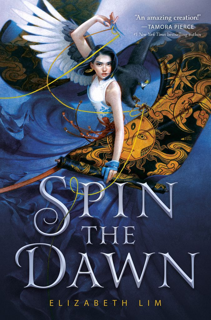 Cover of Spin the Dawn by Lim