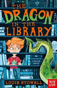 The Dragon In The Library book cover