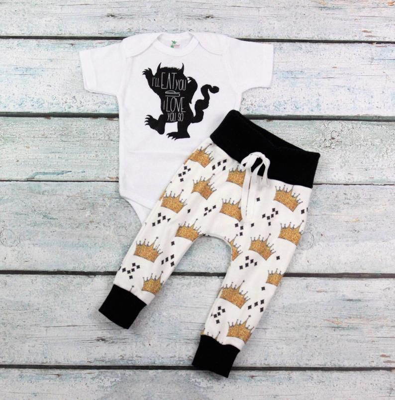 where the wild things are baby clothes