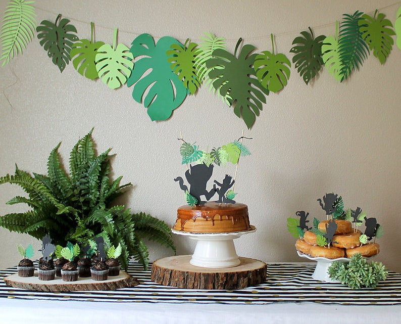 where the wild things are greenery party pack