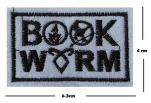 YA Book Worm Patch