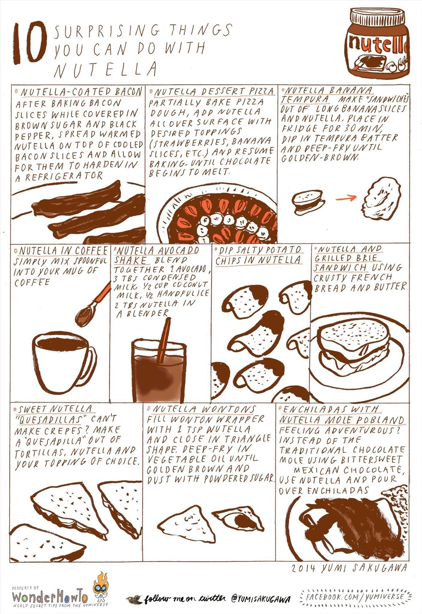 10 surprising things you can do with nutella