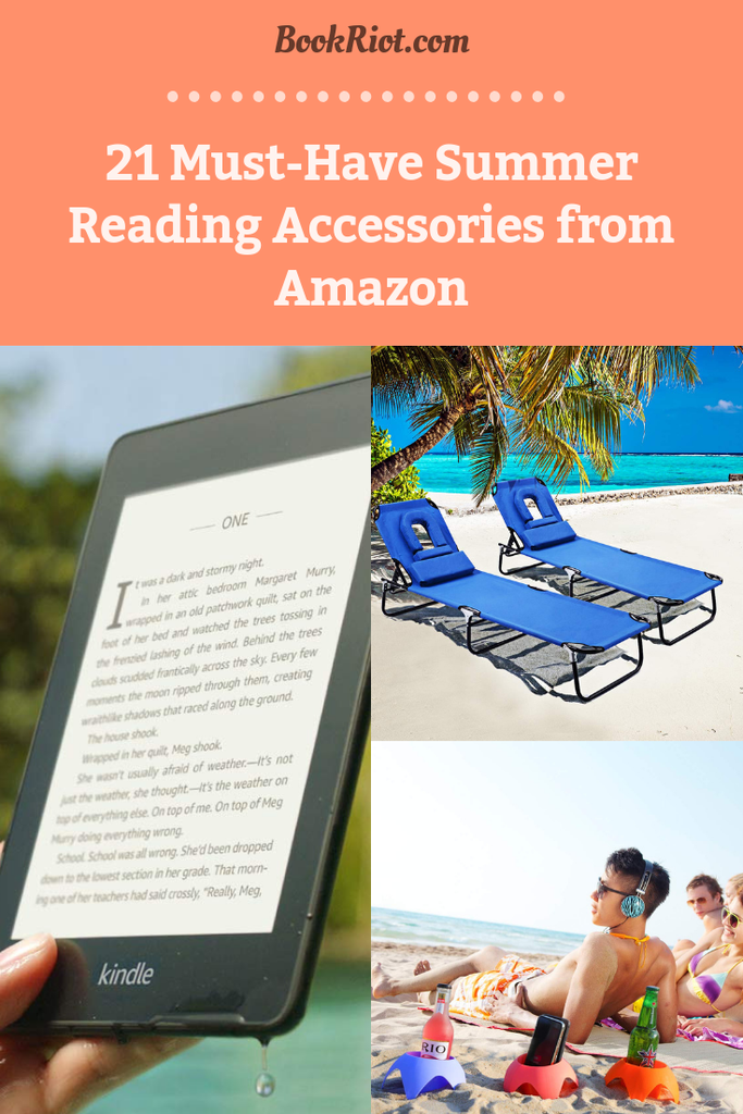 21 Must-Have Summer Reading Accessories from Amazon