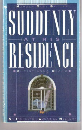 Suddenly At His Residence cover
