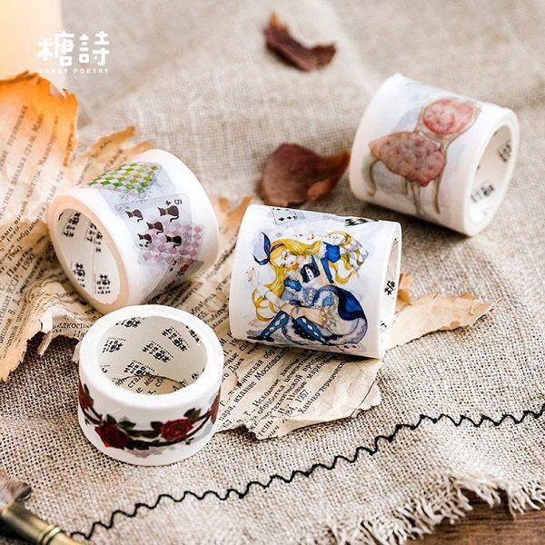Alice Tea Meeting Washi Tape by DiystoryCo