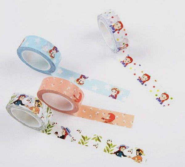 Anne of Green Gables Washi Tape by zakkalover