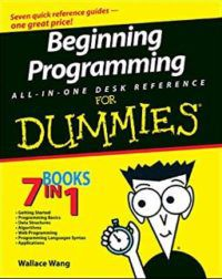 Beginning Programming All-In-One Desk Reference For Dummies by Wallace Wang Computer Science Books For Beginners