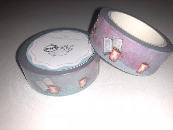 Book Washi Tape by ThePlannersWorld