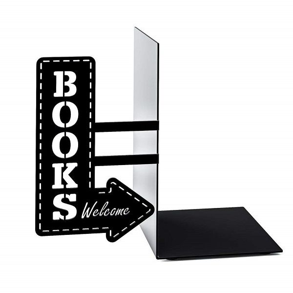 Books welcome bookshop marquee sign bookend