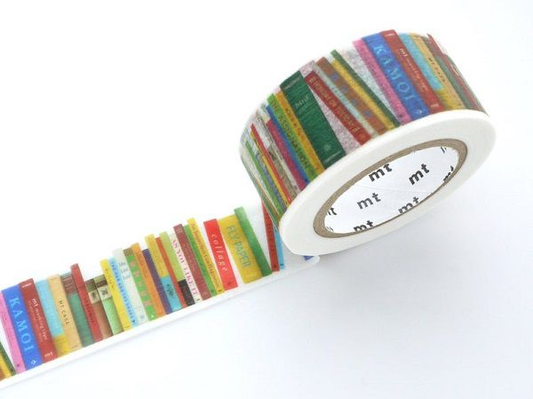 Bookshelf Washi Tape by WashiTapeAddictClub
