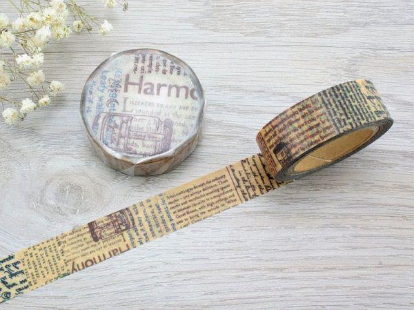 Chamil Garden Washi Masking Tape by Kuldlelu