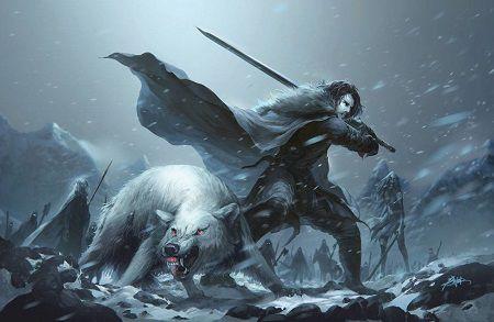 Game of Thrones poster - Jon Snow