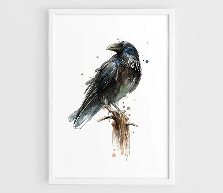 Game of Thrones poster - The Three-Eyed Raven