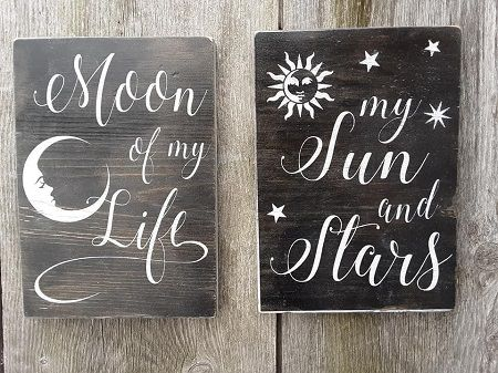 Game of Thrones signs - Moon of My Life