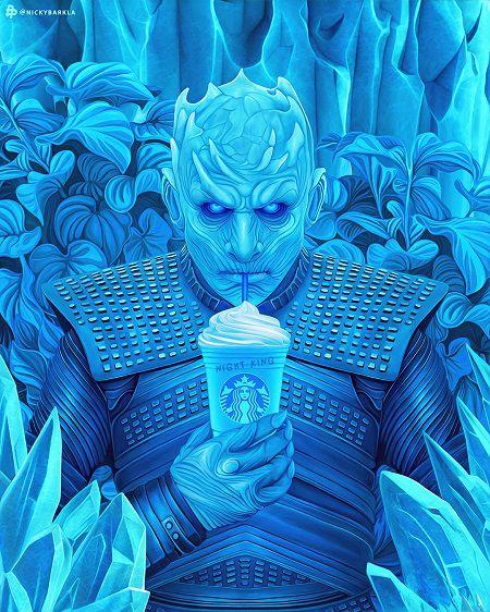 Game of Thrones x Starbucks - The Night King