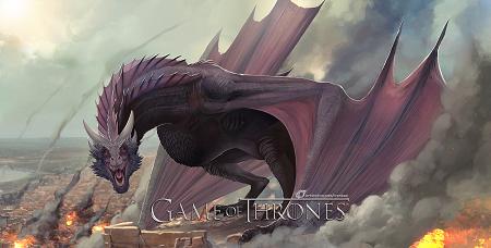 GoT - Dragon Drogon