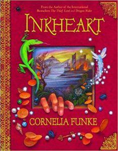 cover of inkheart by cornelia funke