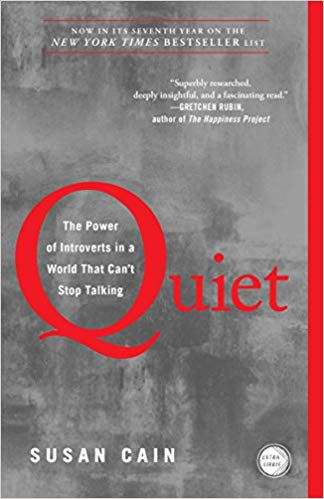 Quiet by Susan Cain Book Cover