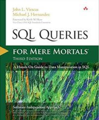 SQL Inqueries For Mere Mortals by John Viescas and Michael Hernandez Computer Science Books