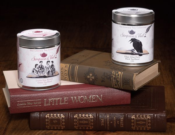 Simpson and Vail Tea Alcott and Poe