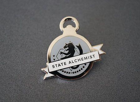 State Alchemist pin