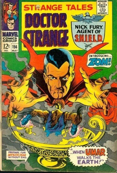 Strange Tales #156