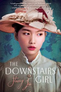 Asian American YA historical fiction: The Downstairs Girl book cover