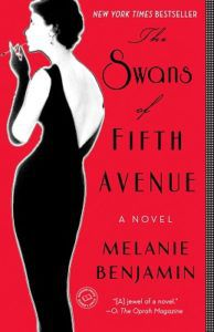 The Swans of Fifth Avenue by Melanie Benjamin Cover