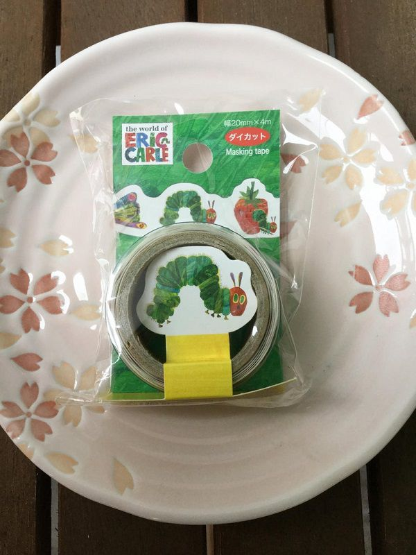 Very Hungry Caterpillar Tape by japanese2please