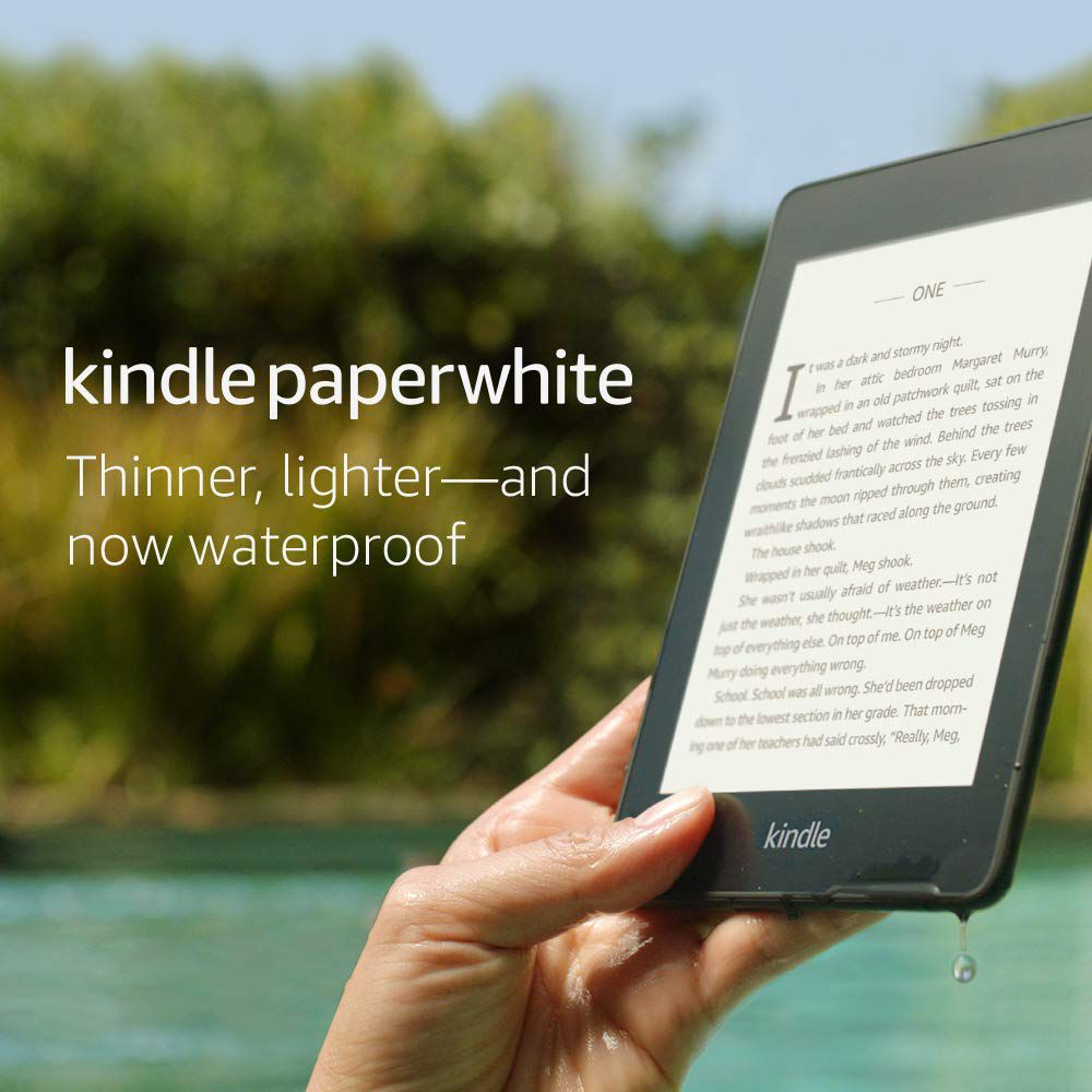 Waterproof Kindle Paperwhite image