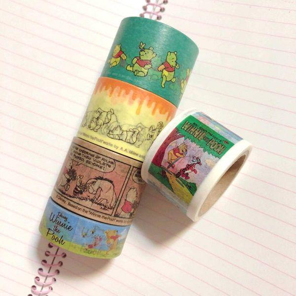 Winnie the Pooh Washi Tape by VVVSTudio