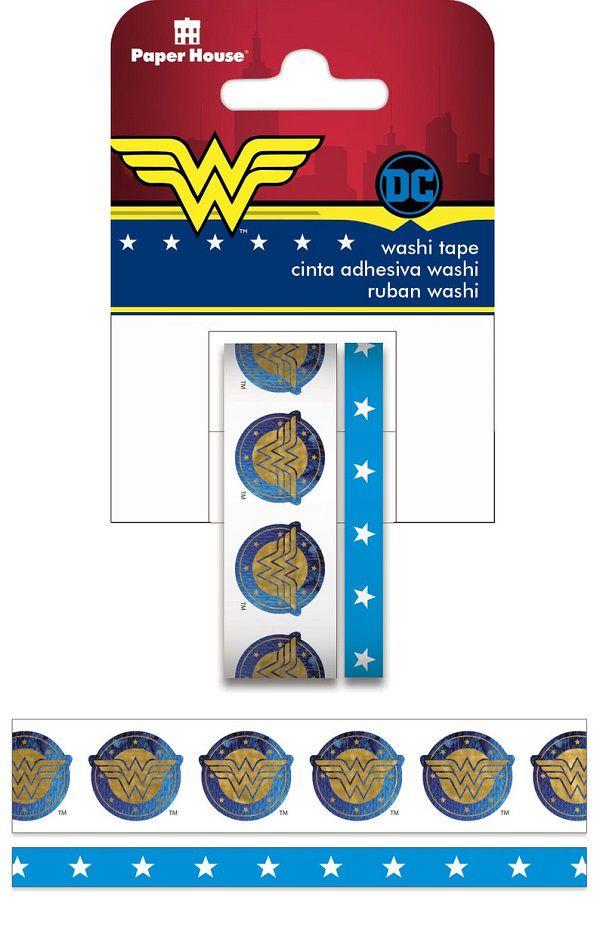 Wonder Woman Washi Tape by BarbsCraftSupplies