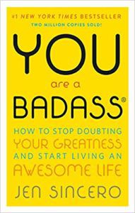 You Are A Badass by Jen Sincero Book Cover