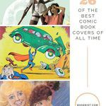 Calling all comics lovers! Feast your eyes on 26 of the best comic book covers of all time. comics | comic covers | best comic books | best comic book covers | cover design