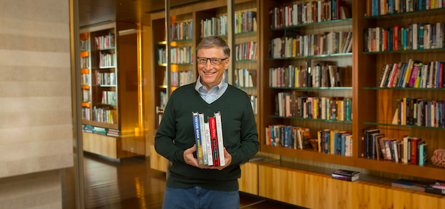 A Full List Of Bill Gates's Book Recommendations From 2012 To 2019