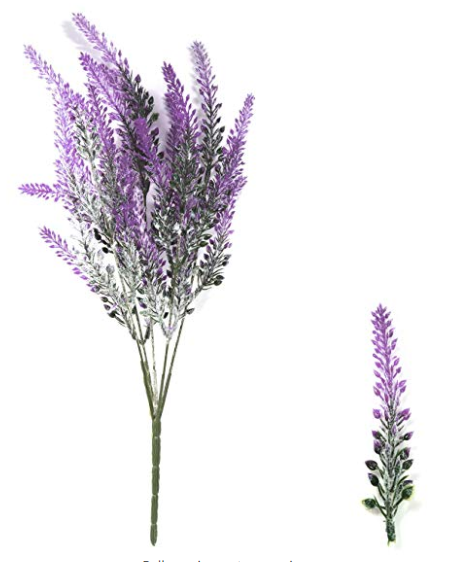 Fake lavender bunch