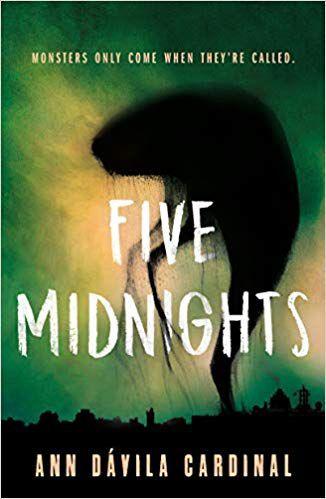 five midnights ann davila cardinal cover ya horror