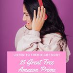 Add some excellent audiobooks to your life, for free, with these Amazon Prime picks, ranging from classics to more contemporary books. book lists | audiobooks | amazon prime audiobooks | free audiobooks
